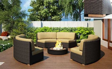 outdoor modular furniture teak and wicker outdoor furniture a lasting combination