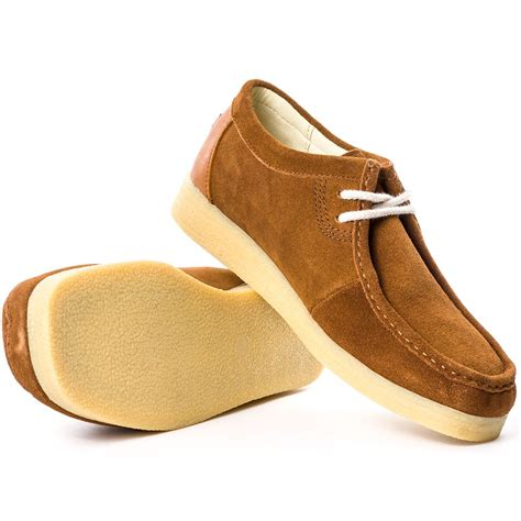 Sandal Casual Pria Kickers Leather mens kickers dinku suede shoes uk size 9 brand new ebay