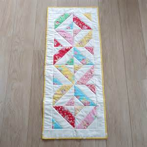 quilted table runner on luulla