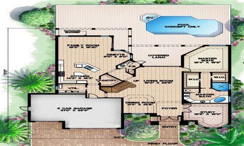 Coastal House Plans Narrow Lots by House Floor Plan Narrow Lot House Plans Floor