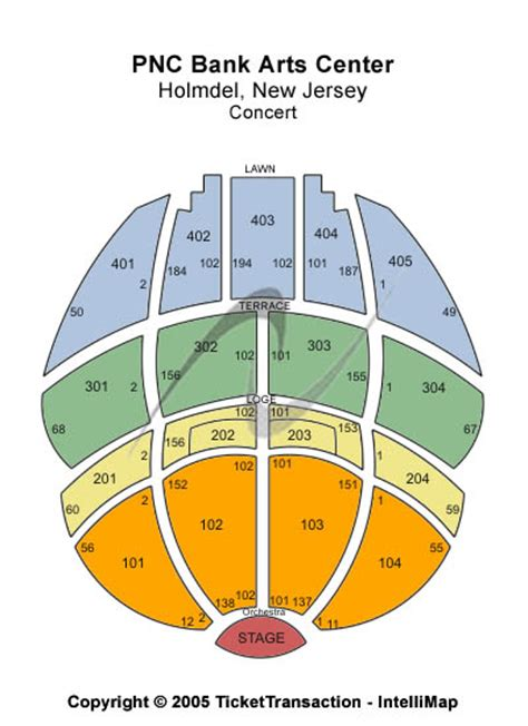 pnc bank arts center schedule holmdel new jersey tickets