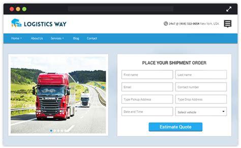 wordpress themes logistics free 10 best logistics transportation wordpress themes
