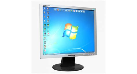 Lcd Samsung monitor lcd samsung 723n 3d model promax3d