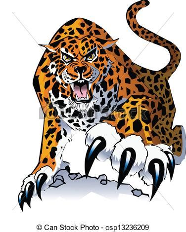 imagenes de garra jaguar clip arte vetorial de on 231 a pintada an ilustra 231 227 o de