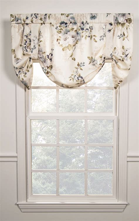 Tie Up Valance Kitchen Curtains Chatsworth Tie Up Valance Ellis Kitchen Valances