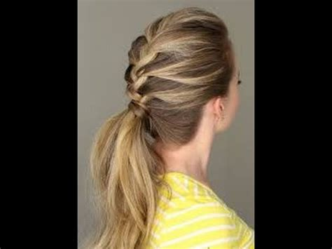 hair stayl with two choti sagar choti pony hair style hairstyling tips easy home