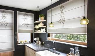 modern kitchen curtains trend for modern kitchen window