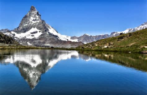 swiss mt clipart surreal swiss mountain lake