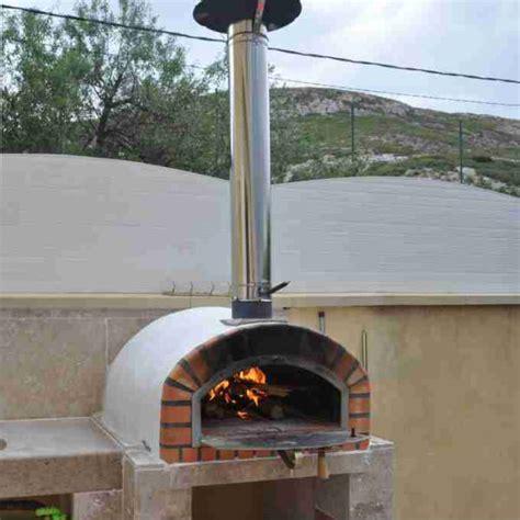brick pizza oven wood burning fired brick pizza oven pizzaioli 120cm
