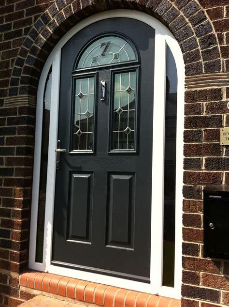 Arch Doors Kw 121bf Krosswood Knotty Alder 2 Panel Top Arch Front Door