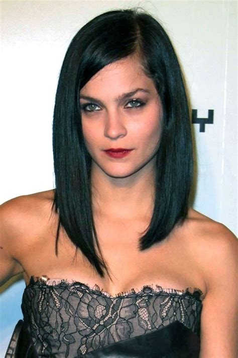 85 lob hairstyles celebrity inspired lob haircuts page 1 of 5 long black bob hair pinterest i want bobs and leigh
