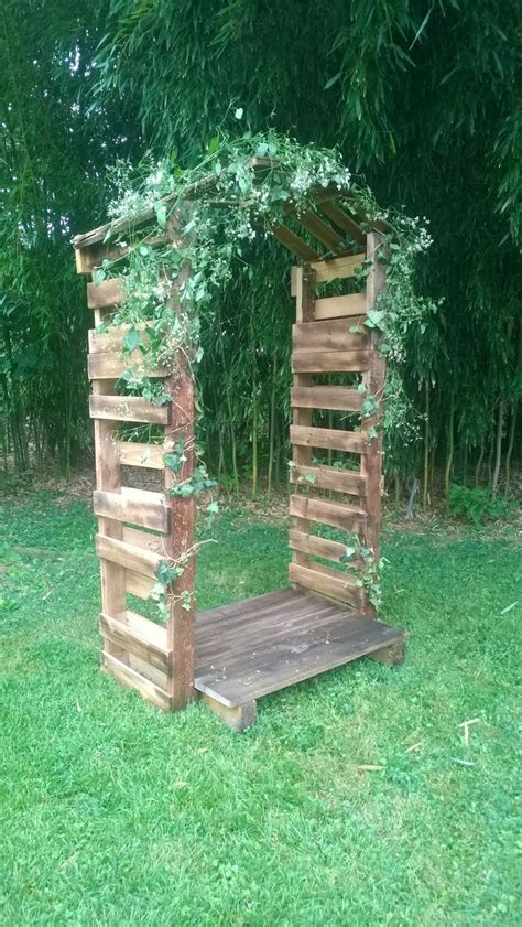 Garden Arch Made From Doors Friends Of Mine Got Married This Past Weekend In A