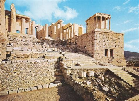 the propylaia was the monumental entrance to the acropolis it is a marvellous building in