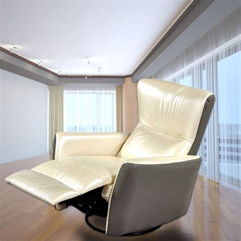 Ergonomic Living Room Chairs Living Room Furniture Leather Recliner Chair Sofa Ergonomic Swivel New Recliners