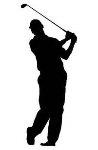 golfer silhouette golf silhouette free clipart clipart best
