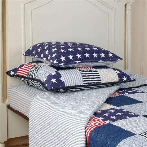 Tagesdecke Kinderzimmer Junge tagesdecke stripes quilt 140x220 clayre eef