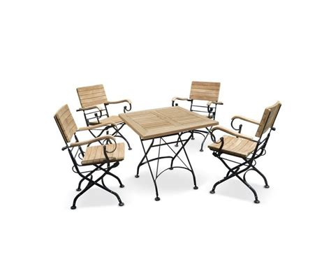 Teak Bistro Table And Chairs Square Bistro Table And Chairs Set