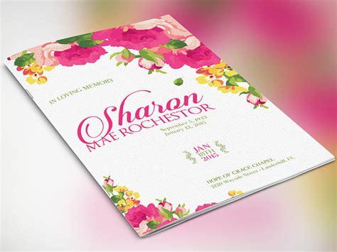 funeral brochure templates free psd templates creative