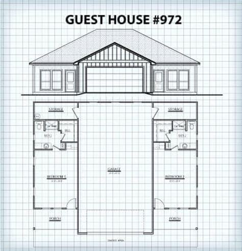 Custom Homes Guest Houses Hill Country Guest House Plans