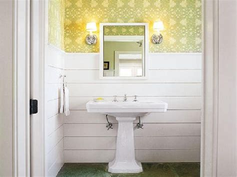 bathroom wall covering ideas
