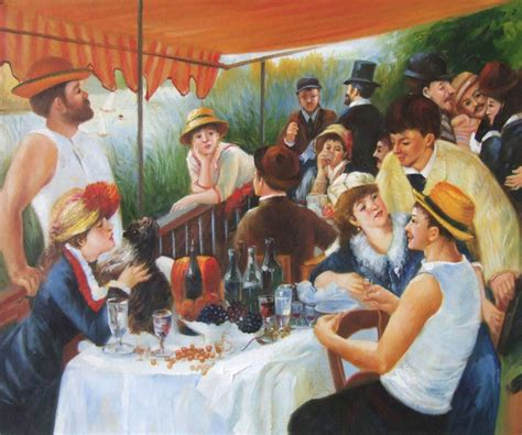 luncheon of the boating party pdf overstockart releases top 10 most popular oil