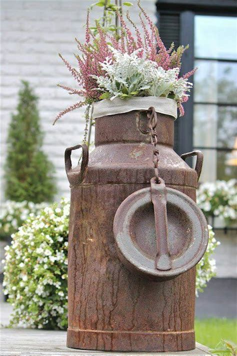 Milk Can Planter by 25 Best Ideas About Milk Cans On Milk Can Decor Country Porch Decor And