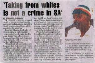 Essay On Racism In South Africa by Former Mandela Supporter Discusses Anti White Racism In South Africa Frontpage Mag