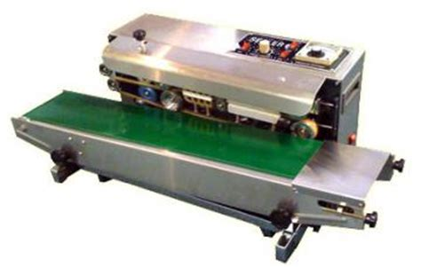 Fr 900f Floor Type Continuous Band Sealer Machine fr 900 heat sealing machine horizontal continuous band