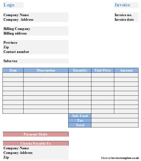 simple free invoice template easy invoice template free easy invoice template