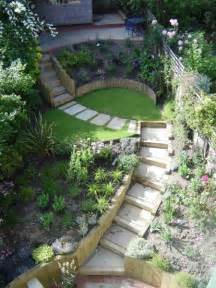 best 25 sloping garden ideas on sloped garden