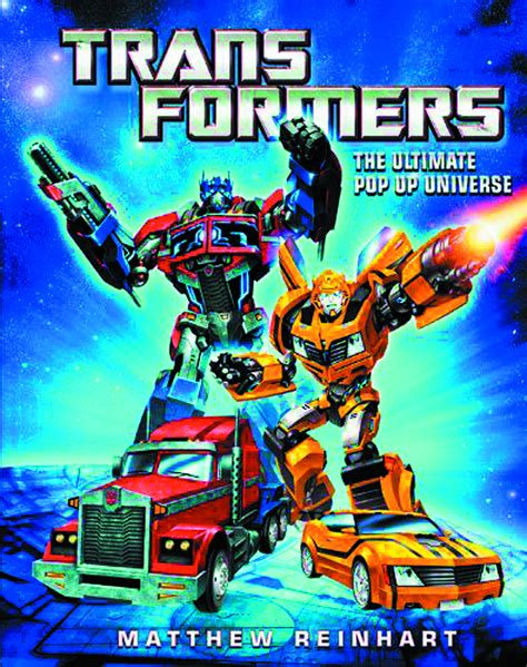 libro transformers the ultimate pop previewsworld transformers ultimate pop up universe dlx ed pp 1080
