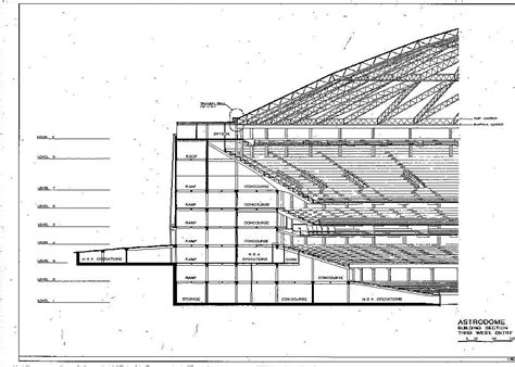 document sections astrodome construction documents