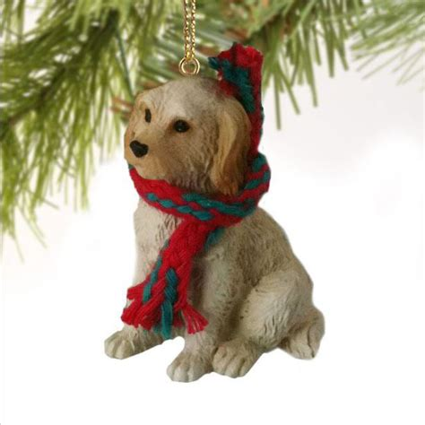 labradoodle holiday ornaments labradoodle ornament figurine scarf gift ebay