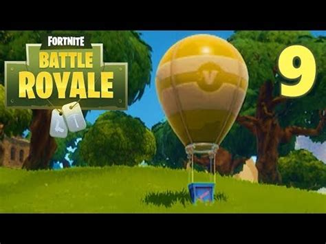 supply drop running  science lets play fortnite