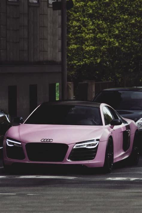 matte pink car matte pink audi r8 audi cars cars