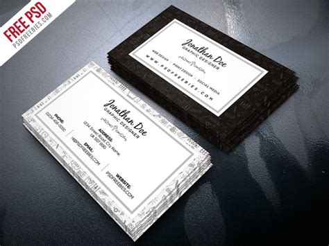 freelance business cards templates freelance designer business card template psd