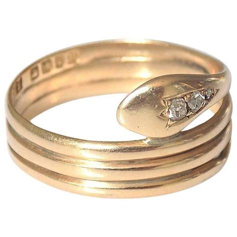 antique edwardian gold snake ring for sale at 1stdibs