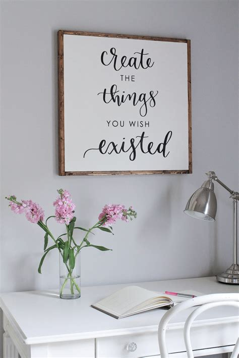 diy printable home decor diy wood sign with calligraphy quote diy signs diy wood