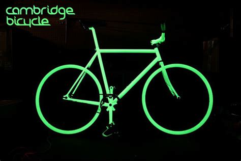glow in the paint bicycle the future is now glow in the sport is taking