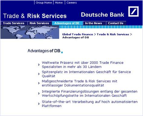 deutsche bank risikomanagement galerie schlechte kommunikation kommdesign de