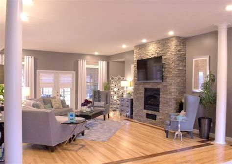 z gallerie home design grey white great room makeover with zgallerie stacked