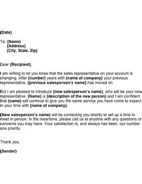 New Hire Introduction Letter Sles by Introduction Letter To Clients For New Business