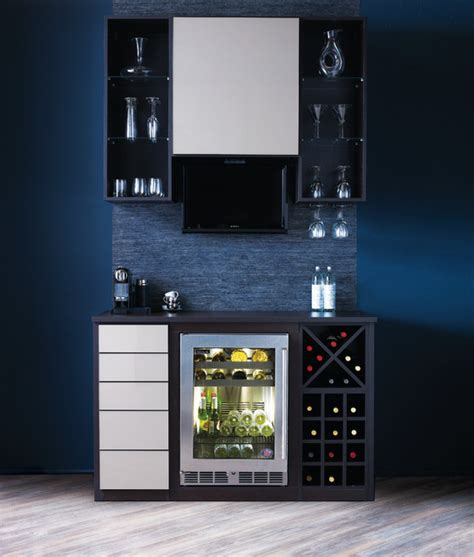 Modern Mini Bar | mini bar contemporary wine cellar vancouver by