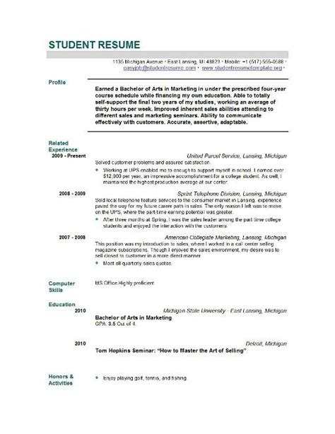 graduate admissions resume exle sle resume for graduate school application best