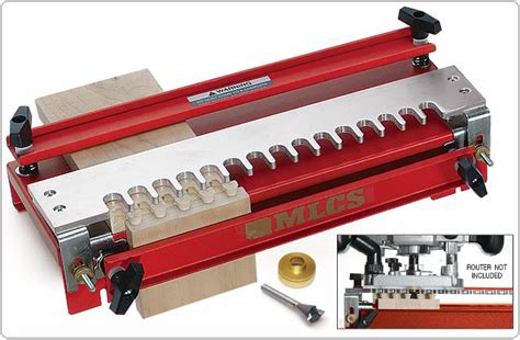 dovetail jig template mlcs master joinery dovetail set and templates