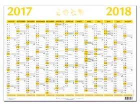 Kalender För 2018 Stor Semesterkalender 18 19
