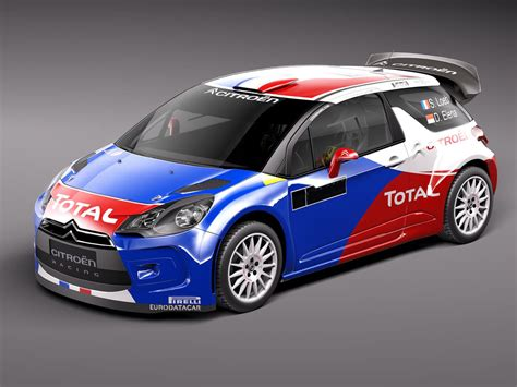Citroen Rally Car by 3ds Citroen Ds3 Rally Car