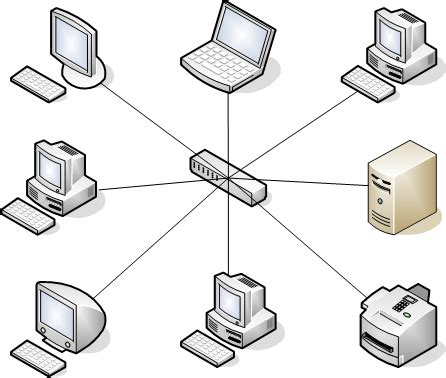 network layout star network topologies networking basics an online mini course