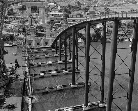 Inside Of Concrete Bridge Mba 50 by Gladesville Bridge 50th Anniversary Heritage