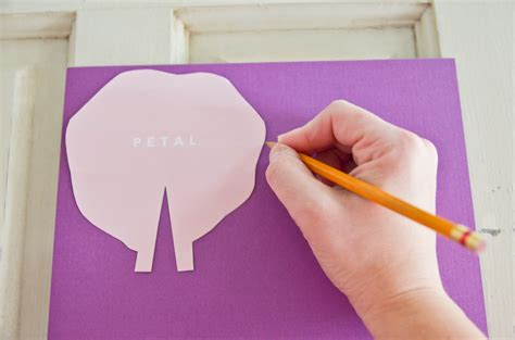 Make Cut Paper - diy cut paper flowers project nursery